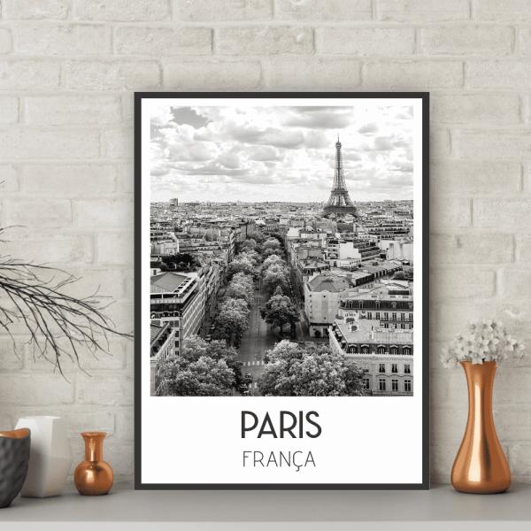 Quadro Paris - Coleção Cidades - 6501