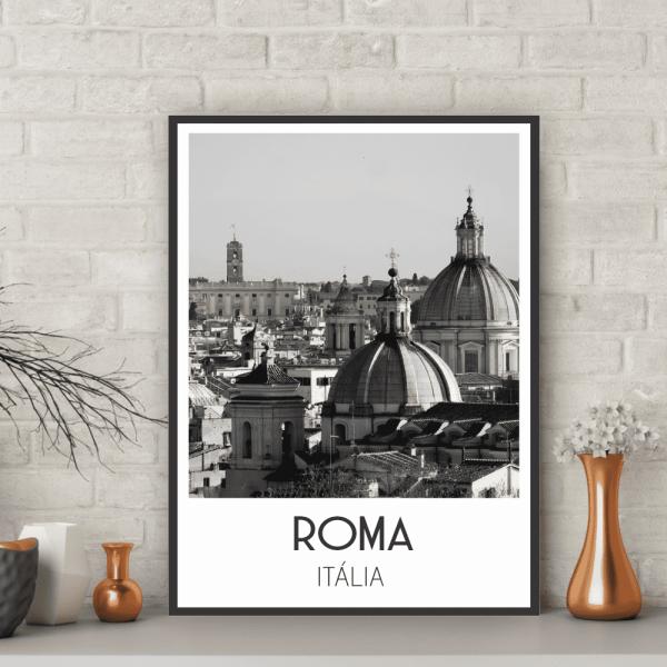 Quadro Roma- Coleção Cidades - 6510