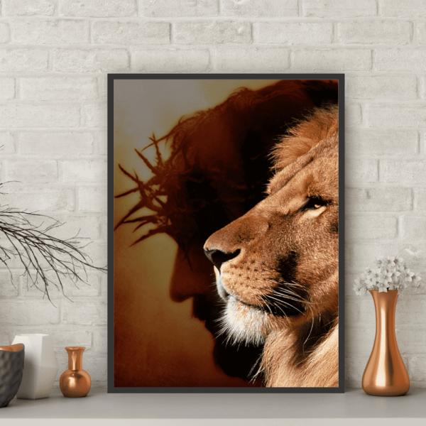 Quadro Leão de Judá - 6754